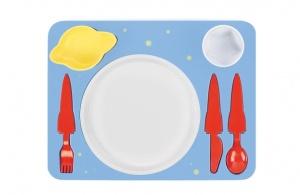 Space dinner set