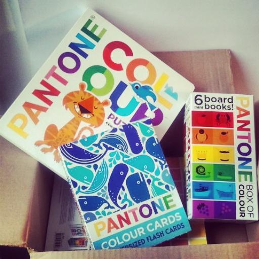YoYo atelier - I libri Pantone appena arrivati!